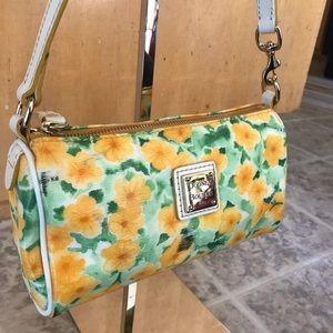 Dooney & Bourke Floral Small Barrel Bag